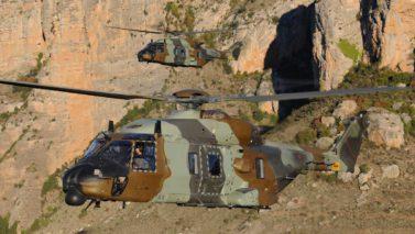 pièces techniques pour hélicoptère de défense
