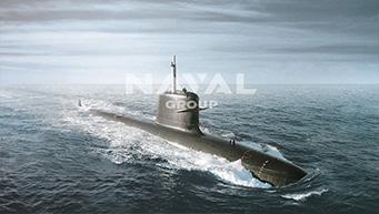 fabrication d'équipements montés sur sous-marins
