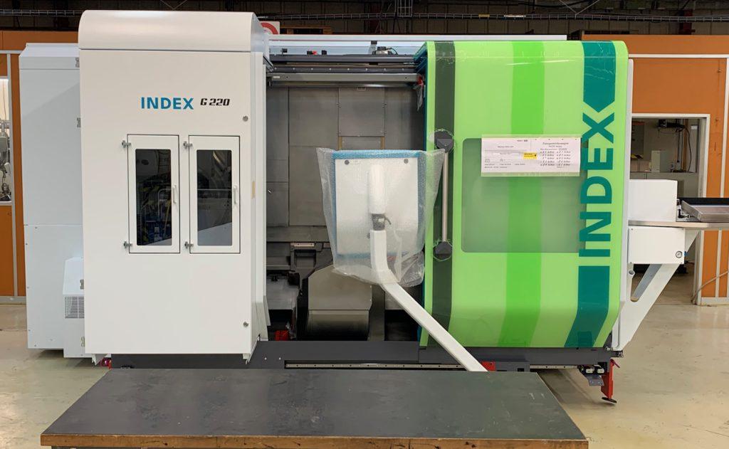 Arrivée de notre nouvelle machine Index G220