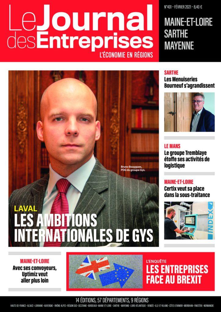 Un bel article dans le n° de février du JDE sur AAS et ses partenaires au sein de CERTIX Group